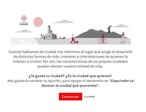 Corporación Ciudades analiza sentido de pertenencia y aspectos  a mejorar de Coquimbo – La Serena