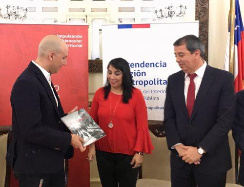 Intendencia Metropolitana recibe informe con recomendaciones para proyecto Nueva Alameda – Providencia