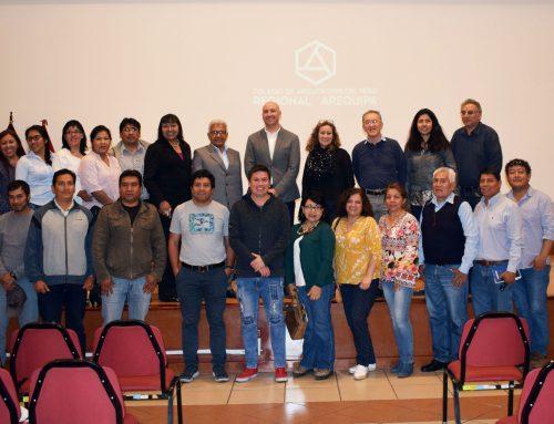 Juan Manuel Sánchez expone sobre gestión de riesgos y planificación urbana en Perú