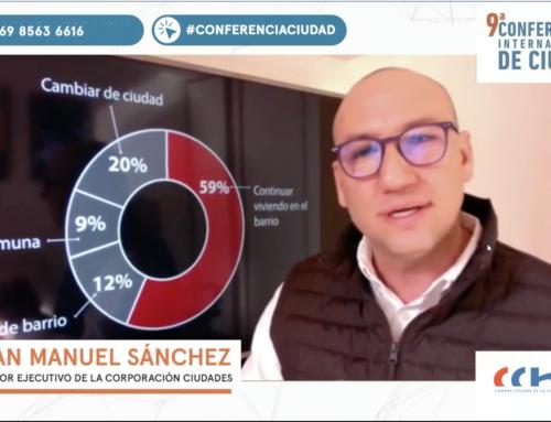 """Juan Manuel Sánchez en Conferencia Ciudad: """"Debemos reponer el tema de la ciudad en el debate público"""""""