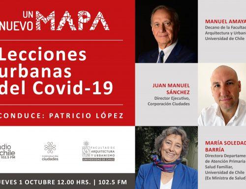 Nuevo programa de Radio U.Chile abordará el derecho a la ciudad