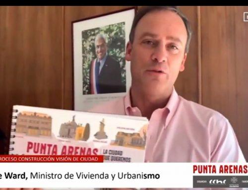 """Ministro Ward en entrega de propuestas urbanas para Punta Arenas: """"Lo que están haciendo es un ejemplo para el resto de las ciudades"""""""