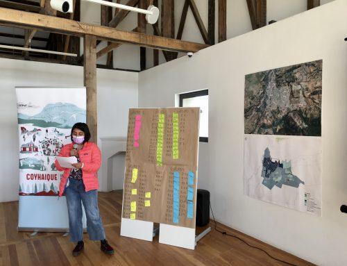 Coyhaique: La ciudad que queremos: Integrantes comenzaron a exponer sus proyectos para la visión de ciudad